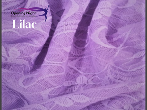 Lilac - Floral Belle Stretch Lace