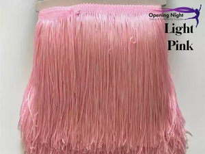 Light Pink - Fringe 15cm