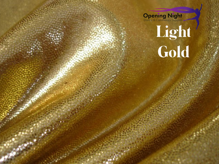 Light Gold - Fog Finish Spandex