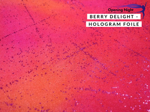 Berry Delight - Hologram Foile Spandex