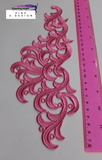 Embroidered Applique Trim, Graceful 26cm