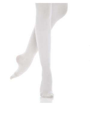 White - Energetiks Classic Tights Footed