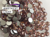 Amethyst Light - AAA Non Hotfix Diamante Crystals