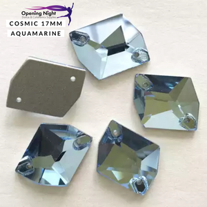 Cosmic 17mm, Aquamarine