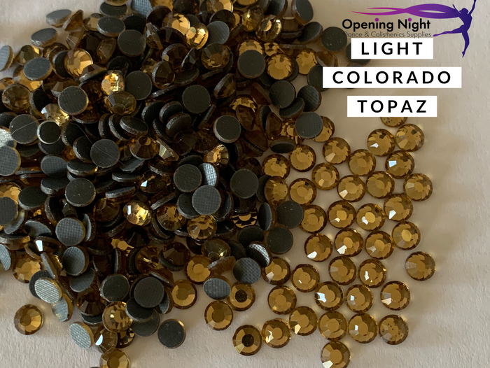 Light Colorado Topaz - DMC Hotfix Diamante Crystals