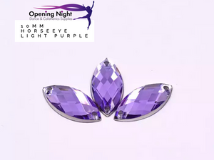 10mm, Horseeye - Light Purple