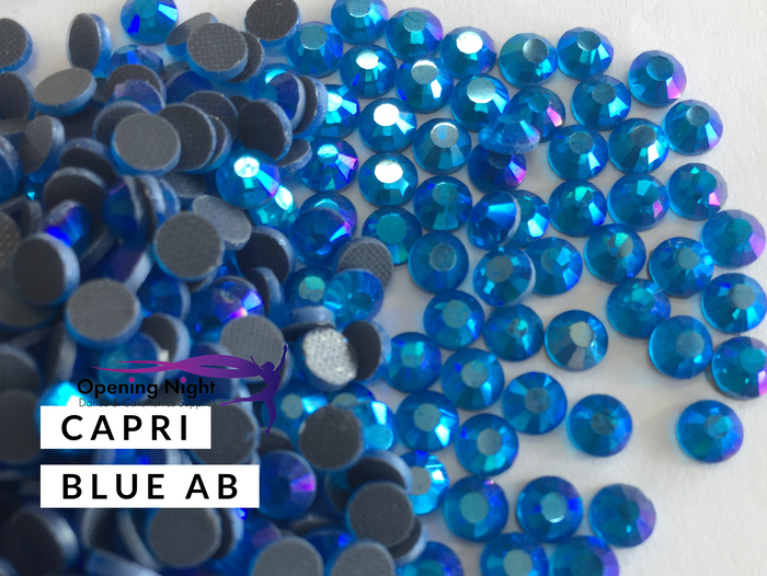 Capri Blue AB - DMC Hotfix Diamante Crystals