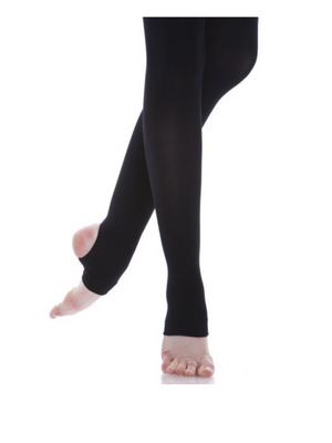Black - Energetiks Classic Tights Stirrup