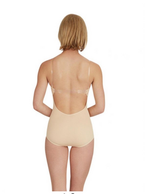 Foundation Body Stocking with Bra Tek - Capezio Nude