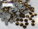 Gold Hematite - Hotfix Diamante AAA Crystals