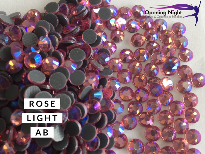 Rose Light AB - DMC Hotfix Diamante Crystals