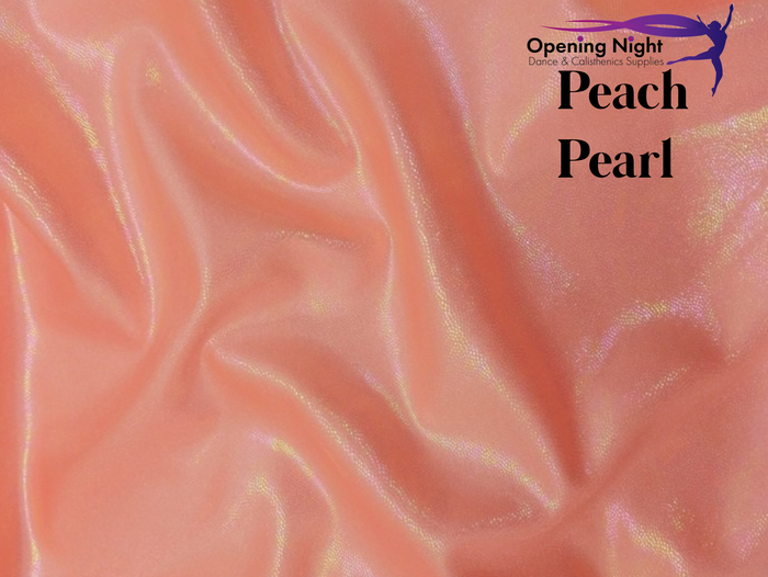 Peach Pearl - Fog Finish Spandex
