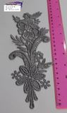 Embroidered Applique Trim, Pirouette 23cm