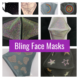 Bling Face Masks