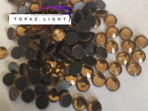 Topaz Light - Hotfix Diamante DMC Crystals