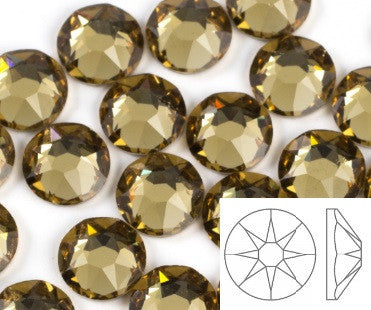 Swarovski® Hotfix Crystals, Light Colorado Topaz