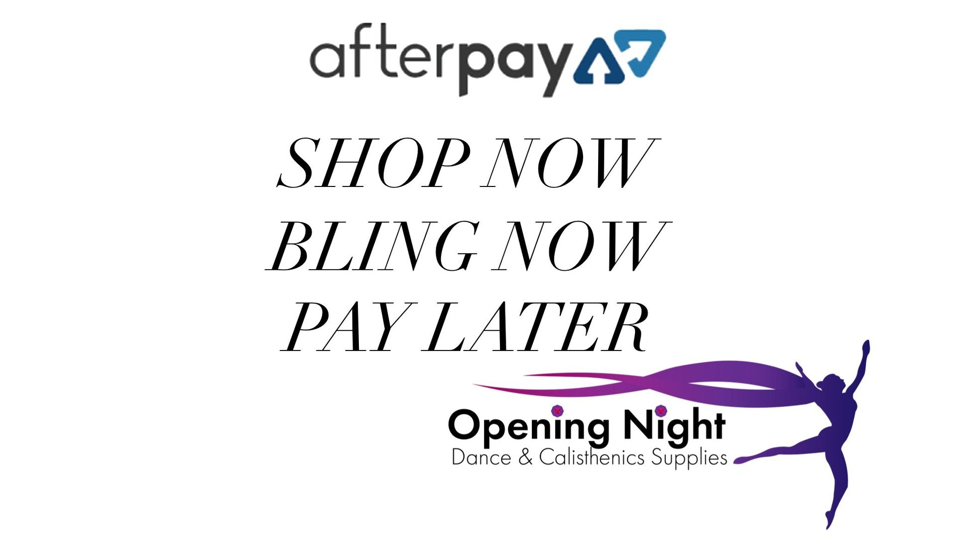 AfterPay now available - orders $69 or more
