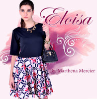 Philippine wholesale clothing suppliers Marthena Mercier Eloisa Dress