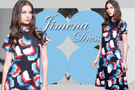 Philippine wholesale clothing suppliers Marthena Mercier Jimena Dress