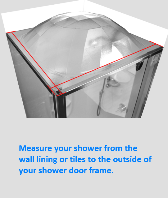 measuring your shower