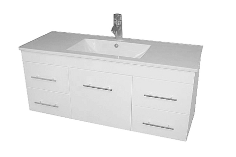 Wall hung Vanity - Albion 1200mm