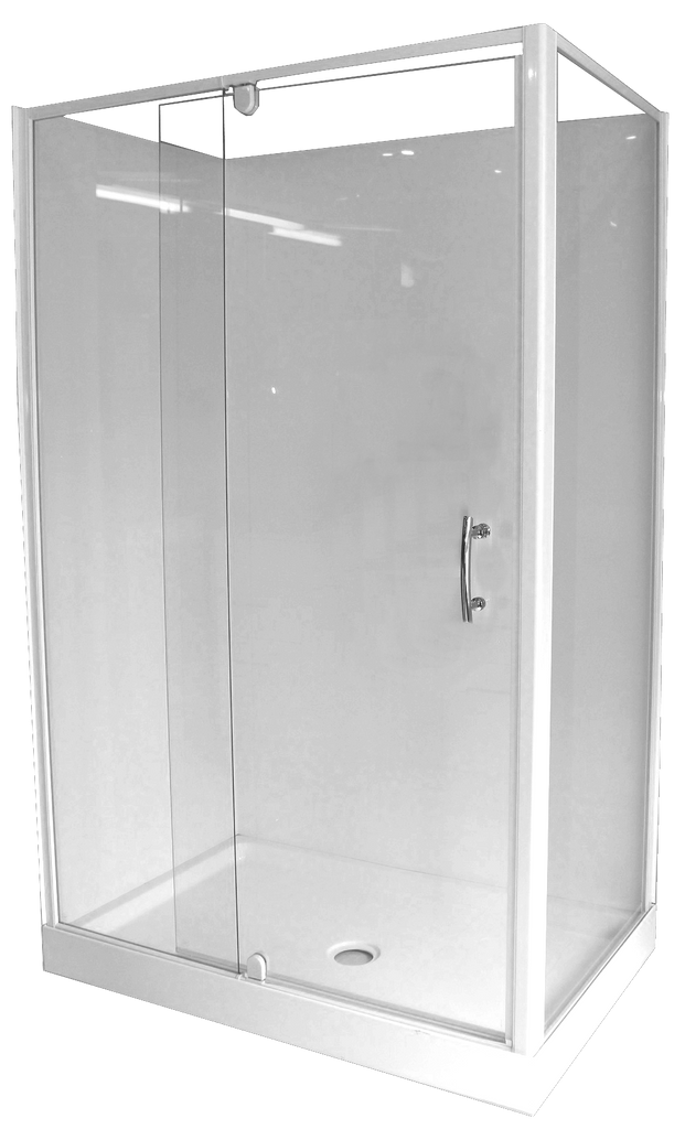 Shower Cubicle Corner 1200 x 760