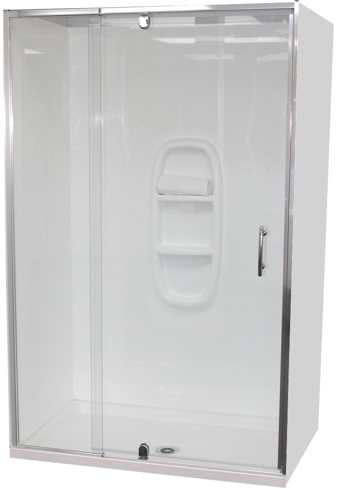 Alcove Shower Enclosures – Bathroom Direct Products