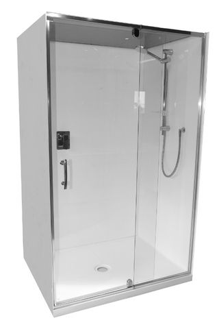 Shower Cubicle 1200 x 760mm 3 sided Alcove