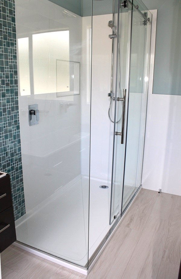 x my hub and door plus linea favorite unidoor deal in dreamline shower corner