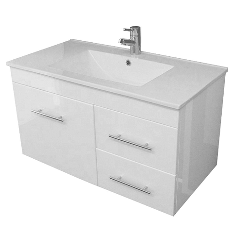Wall Hung Vanity - Albion 900mm