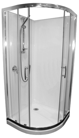 Shower Cubicle Curved Collesium