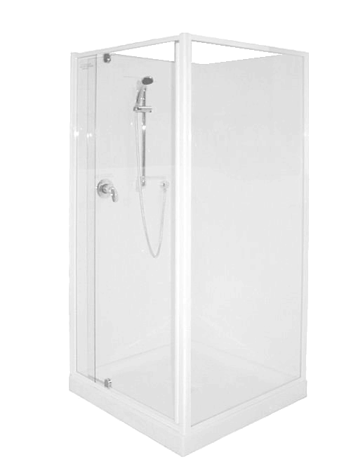 Shower Cubicle 900 x 760 Corner