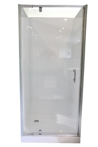 Shower Cubicle 3 Sided Alcove Shower 760 x 900mm