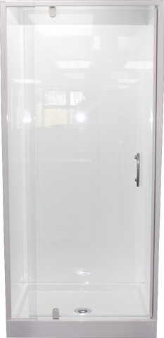 Shower Cubicle 900 x 760 Sided Alcove