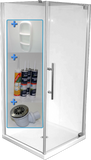 Dreamline Shower Cube 1000mm Complete with Tray and Doors