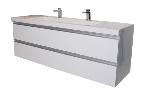 Wall Hung Vanity Linear 1500mm