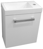 Wall Hung toilet vanity Strata 400 x 220mm