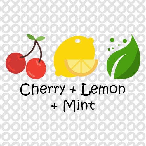 Cherry, Lemon, & Mint