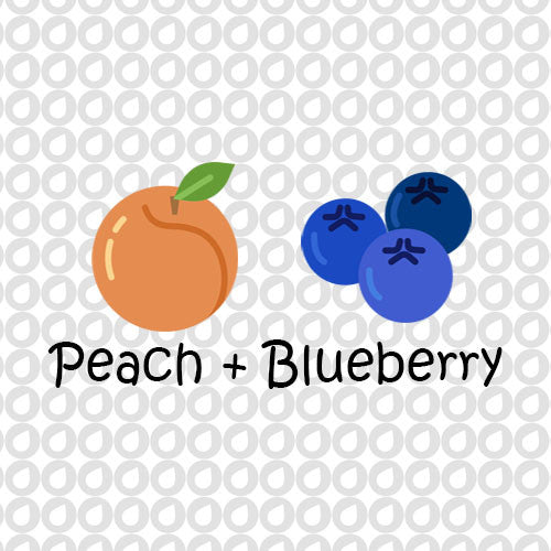 Peach & Blueberry