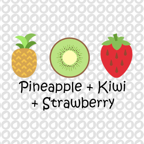 Pineapple, Kiwi, & Strawberry