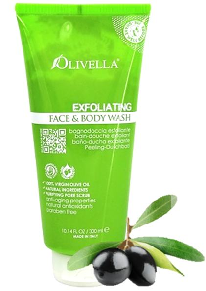 Olivella Ex-foliating Body Wash - Greenhouse Marketing (My Natural Choice)