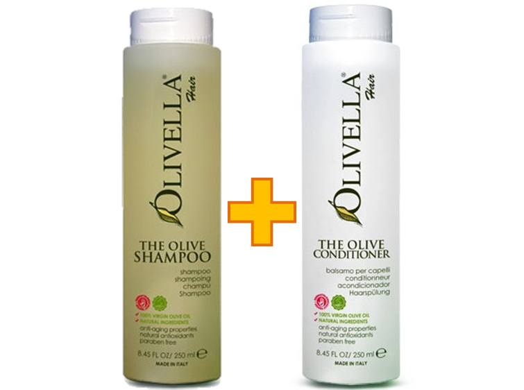 Olivella Shampoo & Conditioner Combo Offer - Greenhouse Marketing (My Natural Choice)