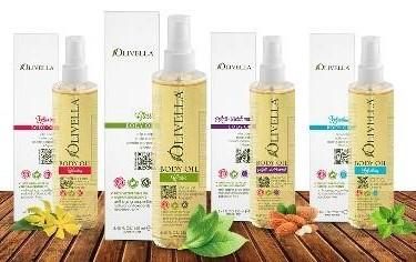 Olivella Body Oils - 250ml - Greenhouse Marketing (My Natural Choice)