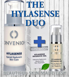 Convenion Combo - Hylasense + Intensive Gel - Greenhouse Marketing (My Natural Choice)