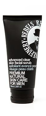 Rebels Advanced Clear Skin Face Scrub -100ml - Greenhouse Marketing (My Natural Choice)