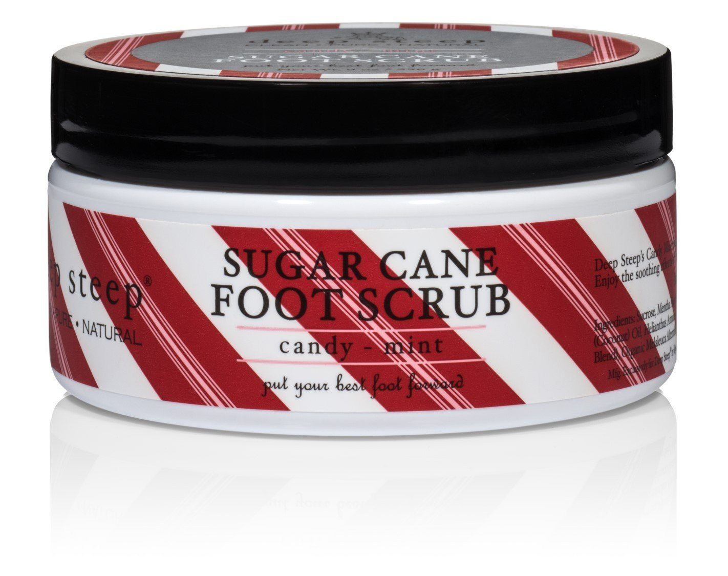 Deep Steep - Sugar Cane Foot Scrub - Greenhouse Marketing (My Natural Choice)