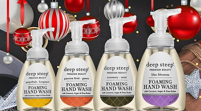 Deep Steep Foaming Handwash 237ml  / 8oz - Greenhouse Marketing (My Natural Choice)