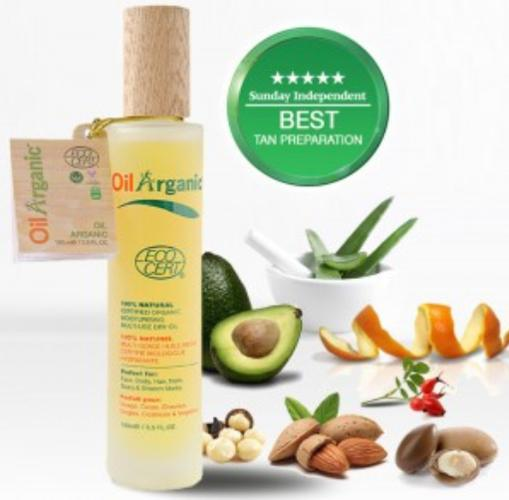 Oil Arganic - 100ml - Greenhouse Marketing (My Natural Choice)