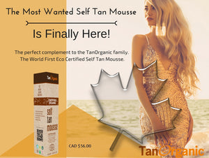 Tan Organic Mousse - 120ml - Greenhouse Marketing (My Natural Choice)