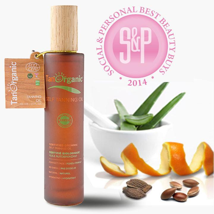 Tan Organic Self-Tanning Oil - Greenhouse Marketing (My Natural Choice)